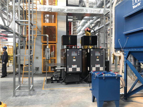 SMC玻璃钢复合材料模压控温