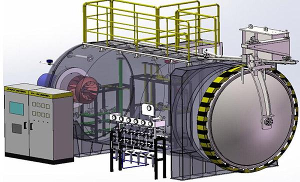 碳钎维复合材料热压罐
