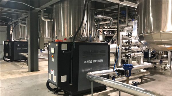 PLC智能化工反应釜温度控制系统