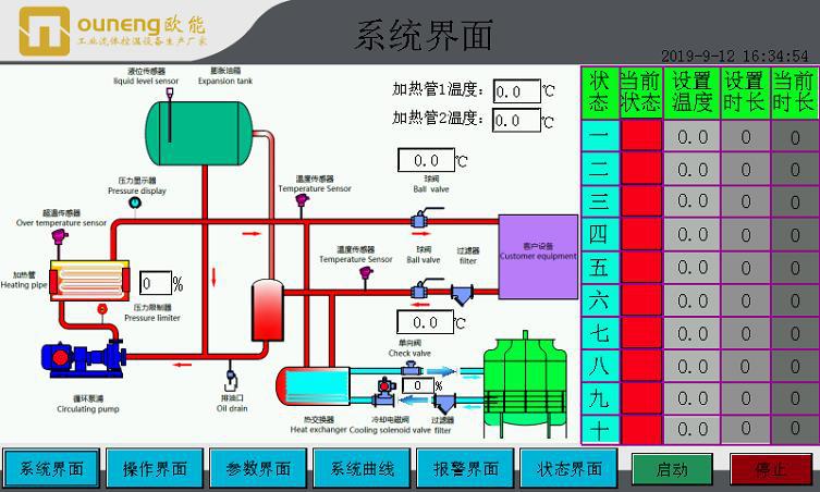 PLC智能控温模温机