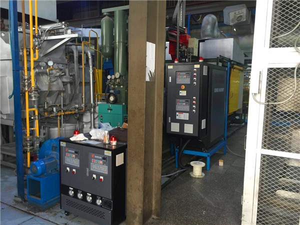 压铸模温机漏油了怎么办?欧能机械不漏油的磁力泵