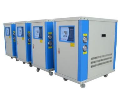 风冷式冷水机与水冷式冷水机的不同「欧能机械」讲解分析