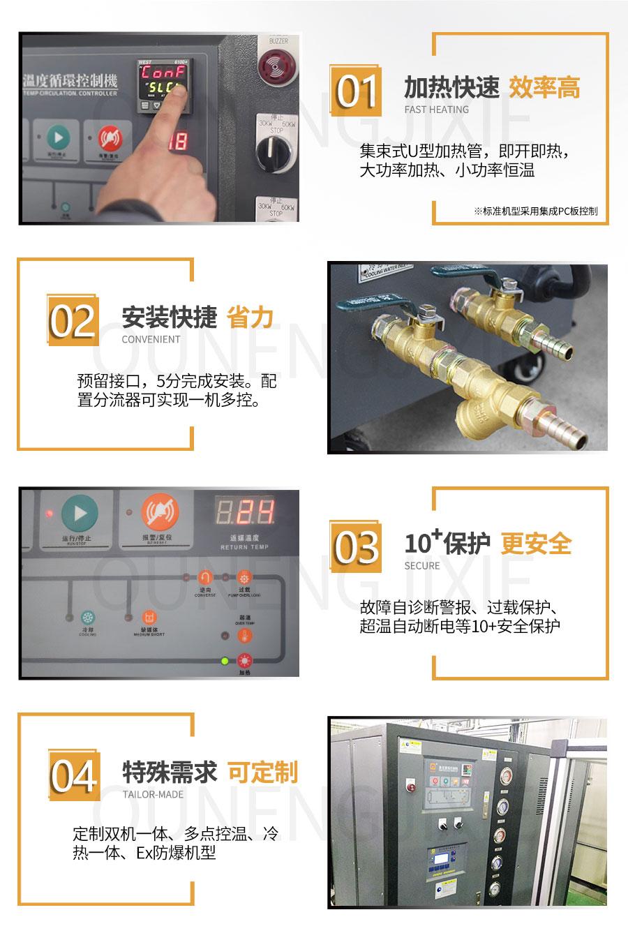 高精度150℃高温水温机
