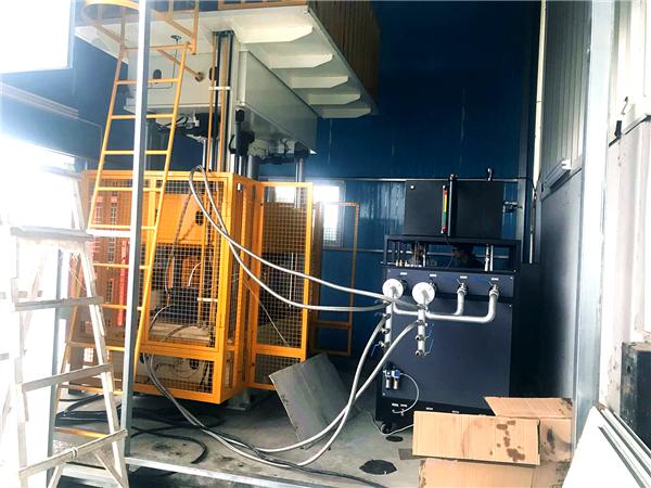 冷热油切换模温机在化工反应釜行业的应用