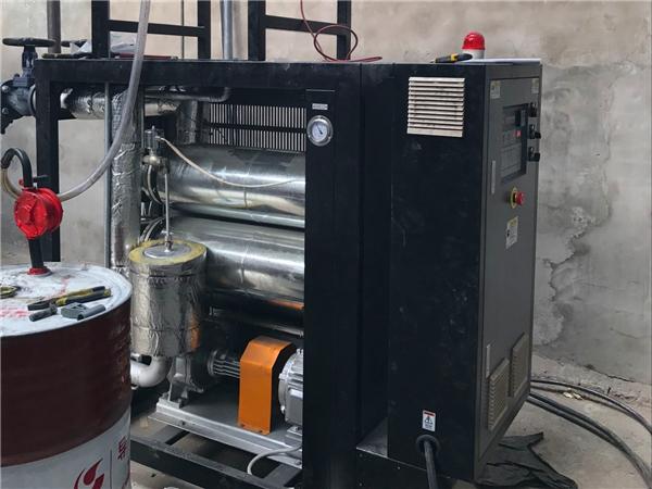 电加热导热炉调试油时注意哪些事项