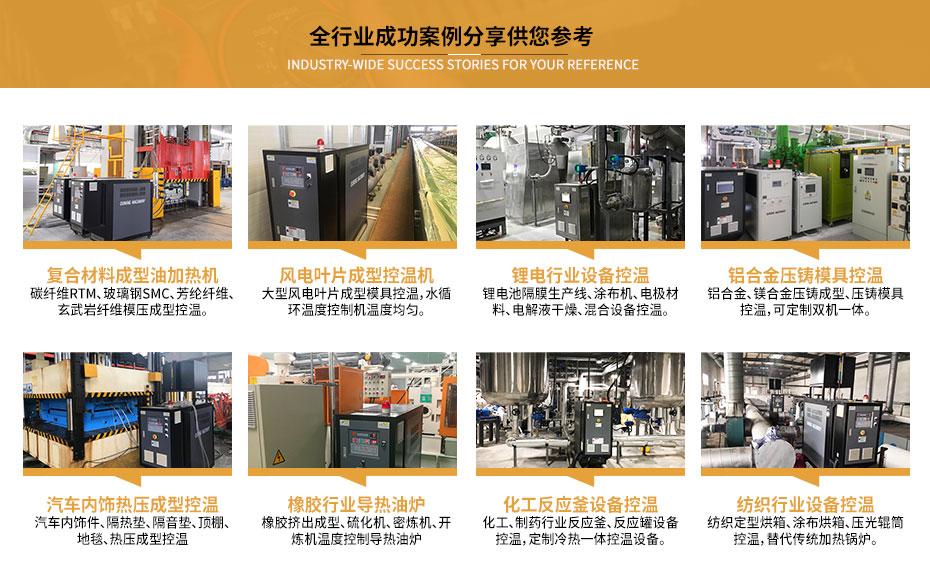 电加热油炉设备案例