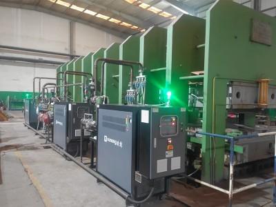 油温机在橡胶硫化机平板加热中的应用