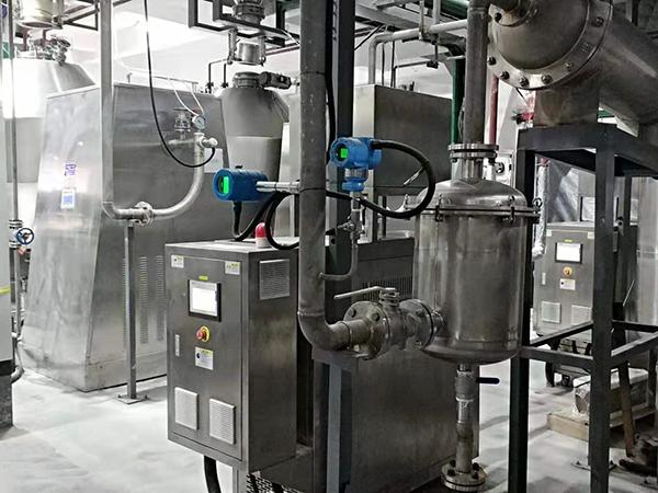 三元材料双锥干燥机加热油温机